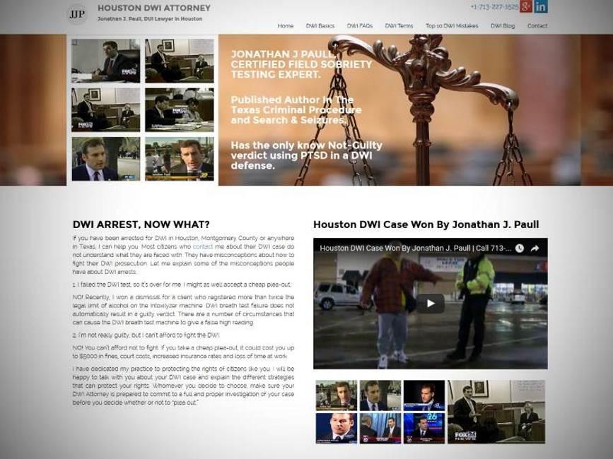 Houstan DWI Attorney