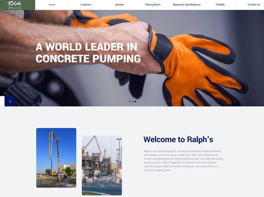 Ralph's Concrete Pumping